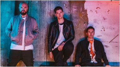 The Script: The Irish band have been nominated.