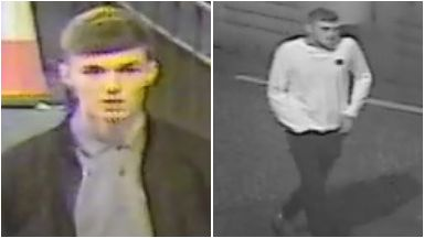 CCTV: Police wish to trace the men pictured.