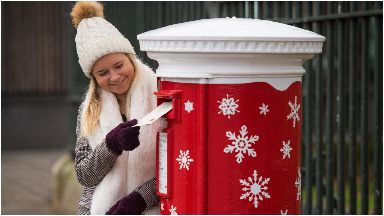 Festive: The postboxes will be installed with sensors.