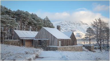 Home of the year: Lochside House in the Highlands.