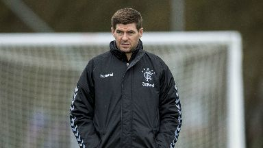 Test: Rangers boss Steven Gerrard expects Hearts to pose his side a tough test this Sunday.
