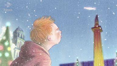 Snowman: Irn-Bru's Christmas advert.