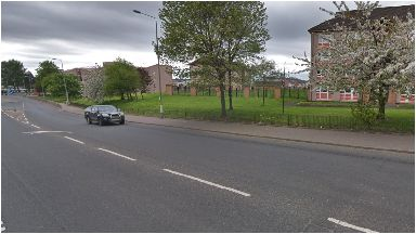 Millerston Street: The incident happened in Glasgow.