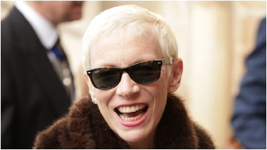 Annie Lennox: Was also inducted to the Hall of Fame.
