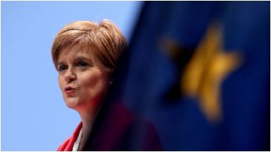 Sturgeon: 'Brexit will make Scotland poorer'.