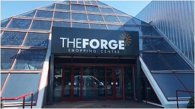 Forge: The incident happened near the shopping centre.