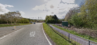 A835: The incident happened near the Maryburgh roundabout.