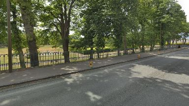 Park: The incident took place on Monifieth Road, Broughty Ferry.