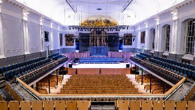 Refurbishment: Aberdeen Music Hall has reopened.