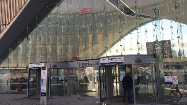 The new-look Dundee station.