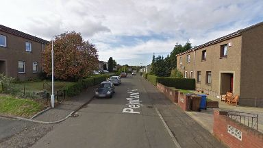 Operation: A house in the Pentland Place area of Kirkcaldy was raided.