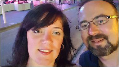 Heartbreaking: Amanda and Michael Cox.