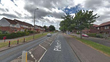 Dundee: A pedestrian was struck in Pitkerro Road.