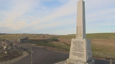 Memorial on the Isle of Lewis.