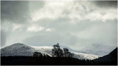 Lost: The climbers were rescued from the Cairngorm Plateau.