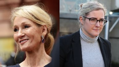 Court: JK Rowling has accused Amanda Donaldson of unauthorised spending.