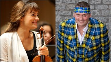 Nicola Benedetti and Doddie Weir have been honoured by the Queen.