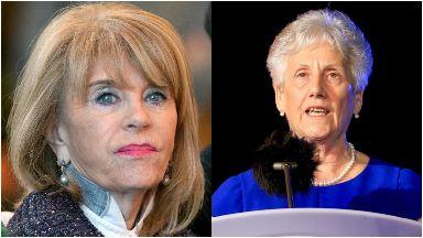 Honoured: Ann Gloag and Louise Martin