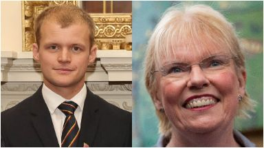 Recognised: Connor Roe and Elaine Wyllie