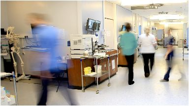 Shut: The ward was closed as a precaution.