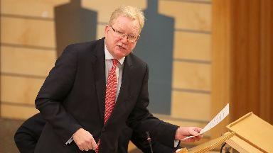 The Scottish Tories interim leader