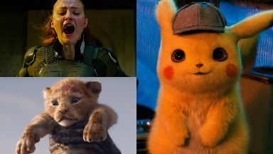 Movie magic: X-Men: Dark Phoenix, The Lion King and Pokemon: Detective Pikachu will be released in 2019.