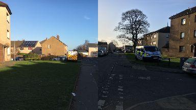 Murder bid: Man attacked on Hogmanay.
