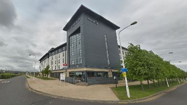 The Premier Inn at Edinburgh Park.