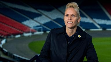 Kerr: Guided Scotland to World Cup.