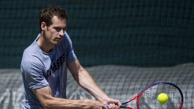 Comeback: Murray is hoping to compete for major honours again in 2019.
