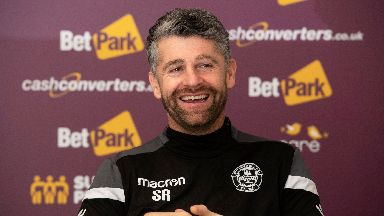 Stephen Robinson has added another forward to his squad.