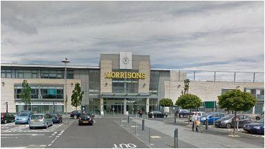 Morrisons: Body found in toilet.