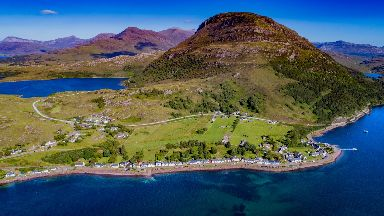 Spectacular: Ben Shieldaig in the Highlands.