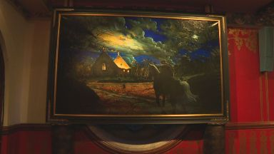 Celebrate: The paintings will bring Burns to a new generation.