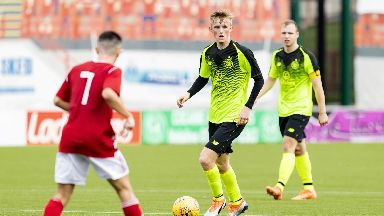 Talent: Brendan Rodgers has singled out Ewan Henderson for praise.
