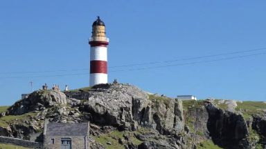 Revamp: Eilean Glas is one of Scotland's oldest lighthouses.