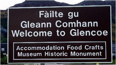 Glencoe: A popular tourist destination.