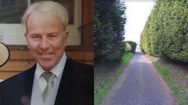 Allan Burns: Last seen walking towards Lochwinnoch.