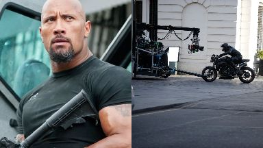 Trailer: Car chase scenes feature in the Hobbs & Shaw preview.