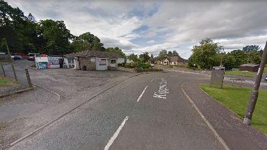 Dunblane: The incident happened on Kippendavie Road.