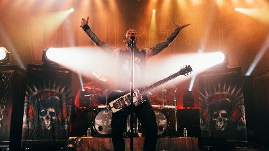 Volbeat: The Danish rock band in Glasgow.