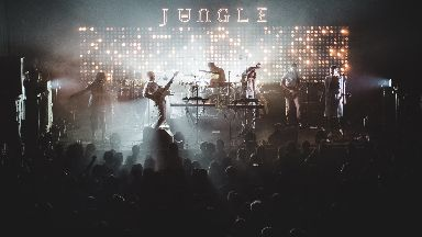Jungle: The band performing at the O2 ABC in Glasgow.