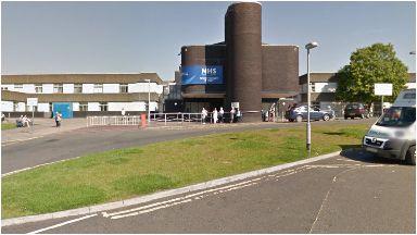 Royal Alexandra Hospital: In Paisley.