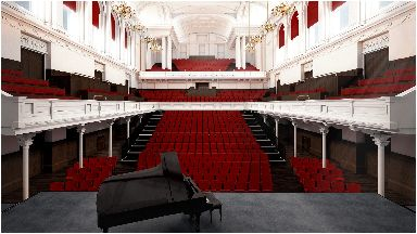 Revamp: Artist impression of new Paisley Town Hall.