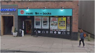 Saved: Fopp on Byres Road will reopen after being closed as part of the HMV takeover deal.