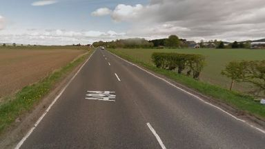 Fatal: The accident happened on the A94 in Angus.