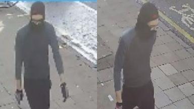 Raid: Armed robber targeted dental practice.