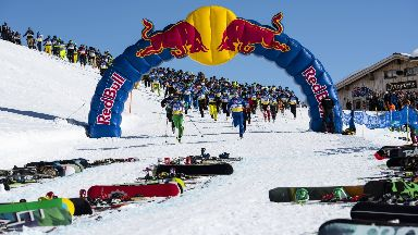 Race: Around 300 skiers had been expected to participate (file pic).