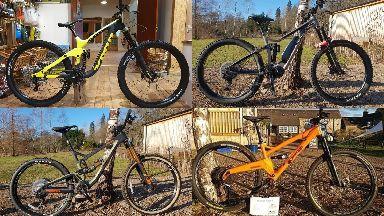 Stolen: Six bikes were taken from Comrie Croft Bikes.