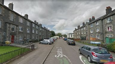 Aberdeen: Police raided a property in Seaton Drive.